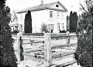Mack Family Grave Site at the 1839 Mack Residence