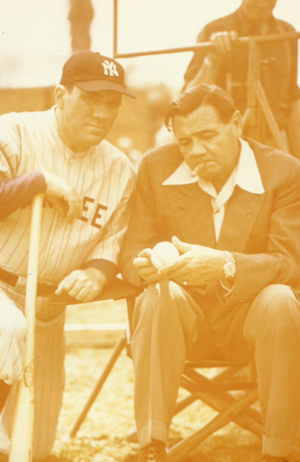 Babe Ruth (right)