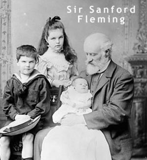Sir Sandford Fleming and Grandchildren