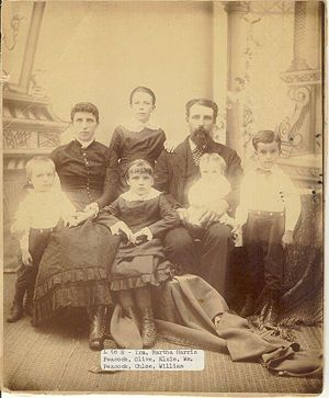 William Cornelius Peacock family portrait