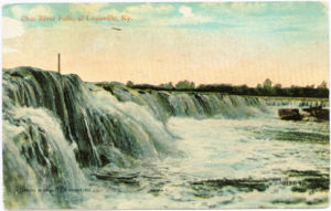 Postcard: Falls of the Ohio
