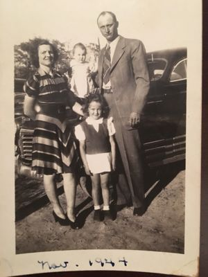 Cassie Marie Brown & Alton H. Fendley & children