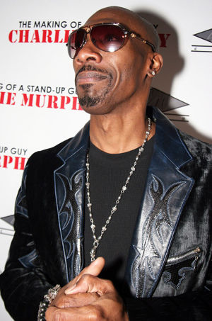 Charlie Murphy at an event to promote his book The Making of a Stand Up Guy in December 2009