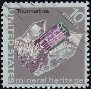 Tourmaline 10 Cents US Postage