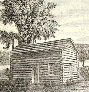 William Crawford's cabin
