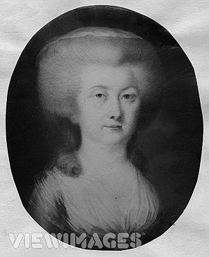 Louise, 'Countess of Albany,' in portrait.