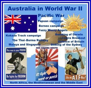 World war ii dates in Australia