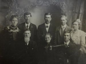 family of William Burgess & Margaret Vest