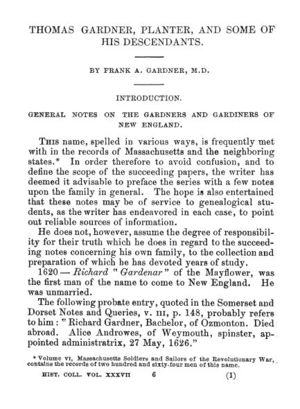 Thomas Gardner, Planter; page 2