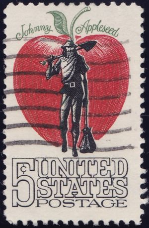 Johnny Appleseed 5 Cents US Postage