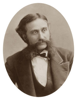Hubert Howe Bancroft (1832–1918), American historian and ethnologist. Namesake of the Bancroft Library, University of California, Berkeley, USA