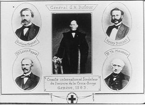 Founders of the International Committee of the Red Cross