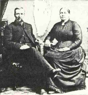 Barnabas and Mary Jane Butler Harris