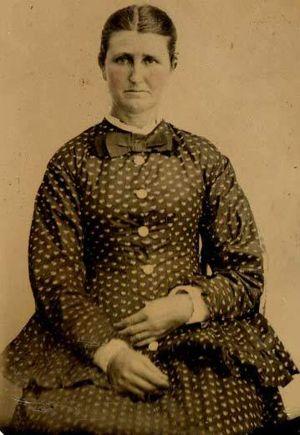 Nellie Elizabeth Baumgardner Becker 1876 1961
