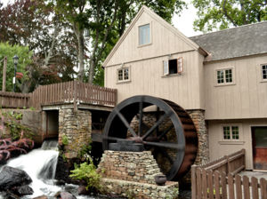 Reproduction of the Plymouth Jenney Grist Mill