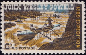 John Wesley Powell 6 Cents US Postage