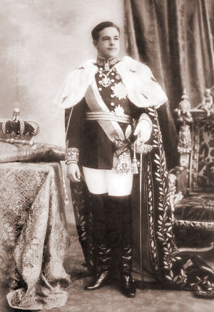 King D. Manoel II, last king of Portugal