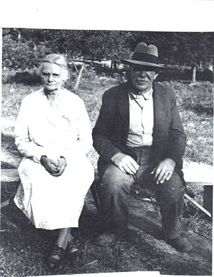 William and Martha Martin 1930s