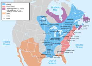 US Southern Colonies English, Spanish, & French