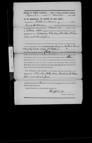Henry Barnes - Death Date on Probate Record