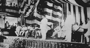 President Taft Addressing the Philippine Assembly
