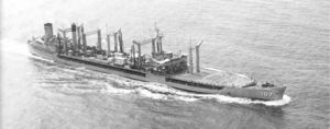 USS Passumpic (AO-107) after