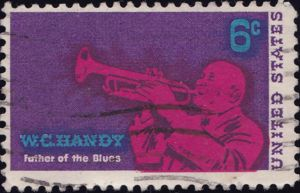 W C Handy 6 Cents US Postage