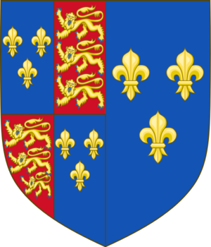 Arms as queen consort