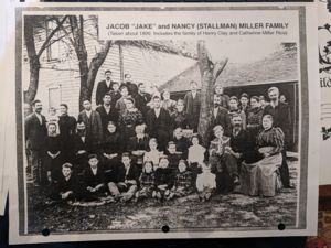 Jacob and Nancy Miller Family