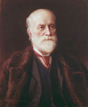 Portrait of Sandford Fleming by J.W.L. Forster