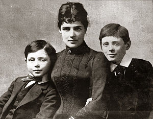 Jennie with sons John and Winston