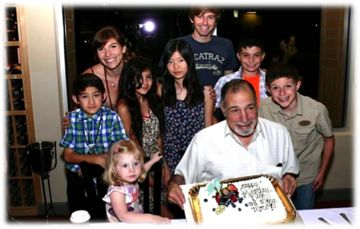 Dick Orkin's Grandchildren Celebrate His 80th Birthday