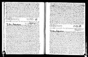 Land Record Proving Death of Samuel Underwood