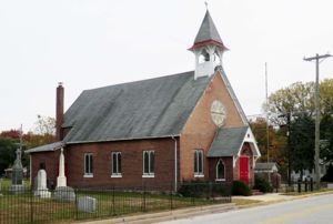 St George's Episcopal Church, founded 1714 as a Swedish Lutheran Church