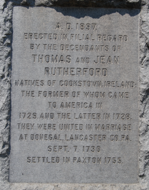 Thomas Rutherford (1707-1773) | WikiTree FREE Family Tree