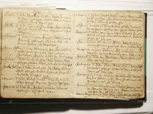 Pieter Viviée baptismal record. March 16, 1710