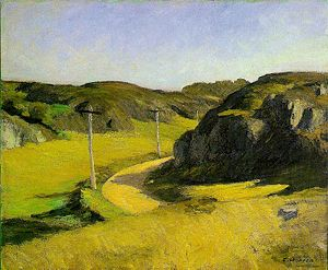 Road in Maine by Hopper