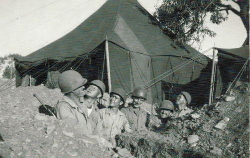 Oliver Peden - WWII with friends