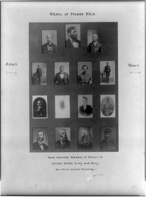 Robert Pinn photo set of medal winners by African American Photographs Assembled for 1900 Paris Exposition via Wikimedia Commons