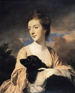 'Lady Charles Spencer' by Sir Joshua Reynolds.