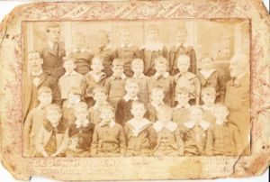 School Class Photo taken by George W. Holden