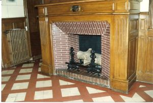 Fireplace at Les Buissonnets, Home of the Martin Family from November 1877 until December 1889