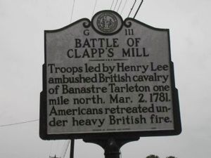 Battle of Clapp's Mill Image 1
