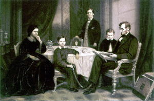 Robert Todd Lincoln with Family