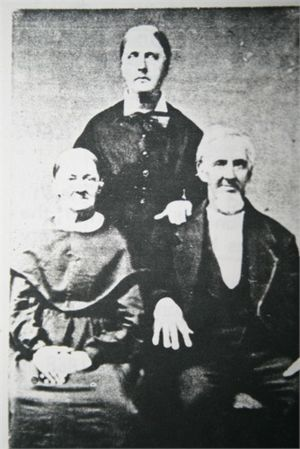Barnabas and Mary Jane Butler Harris, Louisa Butler Harris