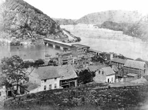 The Town of Harper's Ferry