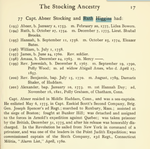 The Stocking ancestry : comprising the descendants of George Stocking, founder of the American family by Stocking, Charles Henry Wright, b. 1835