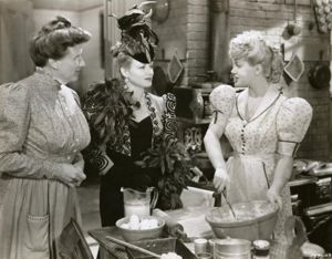 Lana Turner, Marjorie Main, and Claire Trevor in Honky Tonk