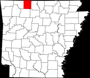 Boone County Arkansas Map.Boone County Arkansas