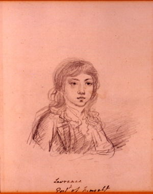 Thomas Lawrence (self-portrait), from the Burghley House collection